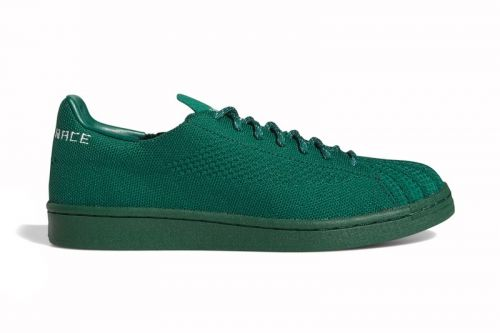 Adidas Taps Pharrell Williams for Finely Woven Primeknit Superstars