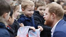 Little Boy Refuses To Believe Prince Harry Is A Real Prince