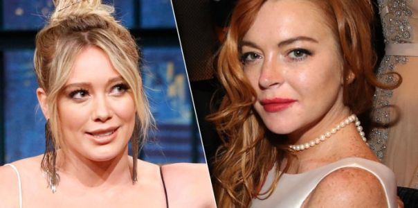 Hilary Duff vs. Lindsay Lohan in 'Us Weekly's Famous Feuds': Watch