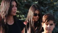 Kourtney Kardashian's Son Is Starting Feuds, Spilling Family Tea On Secret Instagram