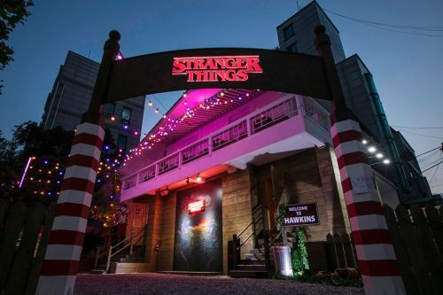 Netflix's 'Stranger Things' Pop-Up Brings Hawkins to Seoul