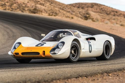 You Can Buy This Extremely Rare 1968 Porsche 908 Works Short-Tail Coupe