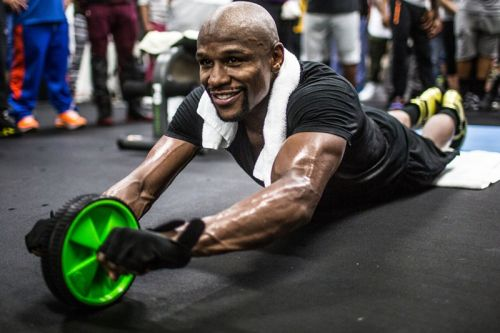 Floyd Mayweather Confirms MMA Training With Tyron Woodley