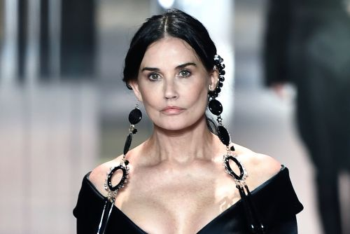 Demi Moore makes surprise runway appearance for Fendi at Paris Fashion Week