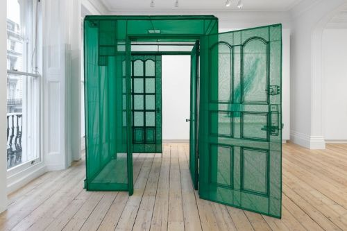 Do Ho Suh Unveils Architectural Fabric Works at Lehmann Maupin