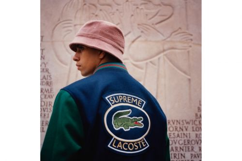 Supreme & Lacoste Strike Back With New Spring 2018 Collection