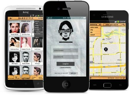 A Bangin' New Beauty Mobile App