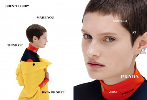Prada's new campaign will make you question creativity
