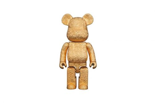 "Medicom Toy and Royal Selangor Drop Bright ""Golden"" BE RBRICK"