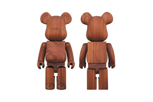 "Karimoku Teams up With Medicom on a ""Rosewood"" BE RBRICK 400%"