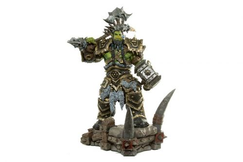Blizzard Immortalizes Horde Warchief Thrall With a 24-Inch Statute