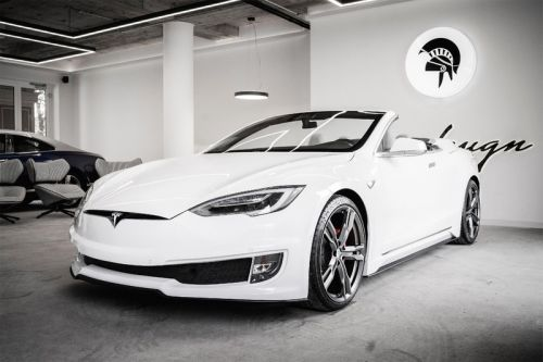 Ares Design Crafts a Two-Door Tesla Model S Convertible