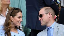 Kate Middleton, Prince William Coordinate In Matching Outfits At Wimbledon