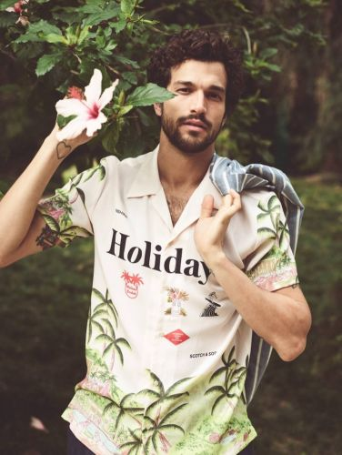 Tropical Garden Isle: Paul Dons Summer Fashions from Scotch & Soda