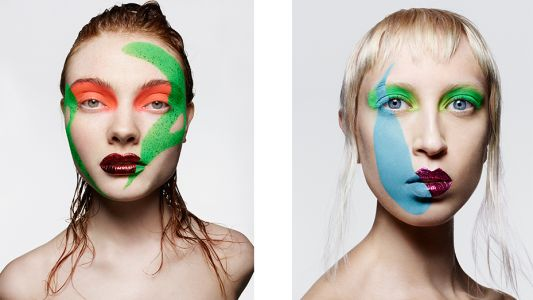 She's Like A Rainbow: Rankin and Andrew Gallimore create colour pop beauty