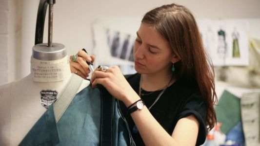 Fashion School Diaries: A Pratt Student Focuses on Sustainability for Her Senior Thesis Collection