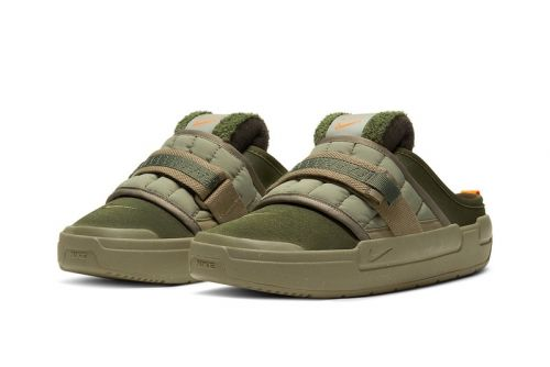 "Nike's Offline Sandal Gets Hit With a Militant ""Army Olive"" Makeover"