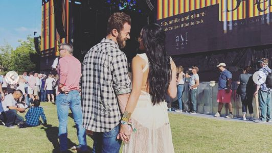 Nikki Bella and Artem Chigvintsev Pack on the PDA at Bottlerock Festival in Napa Valley