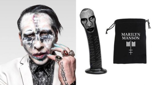 You can now buy a dildo with Marilyn Manson's face on it