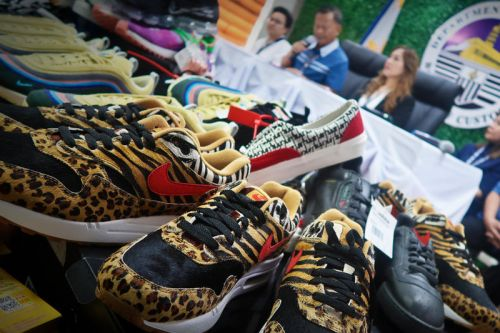 $750K USD of Fake Sneakers & Goods Seized in Philippines