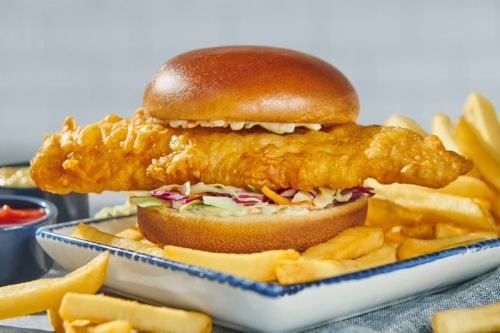 "Red Lobster Releases Massive ""Codzilla"" Fish Burger"
