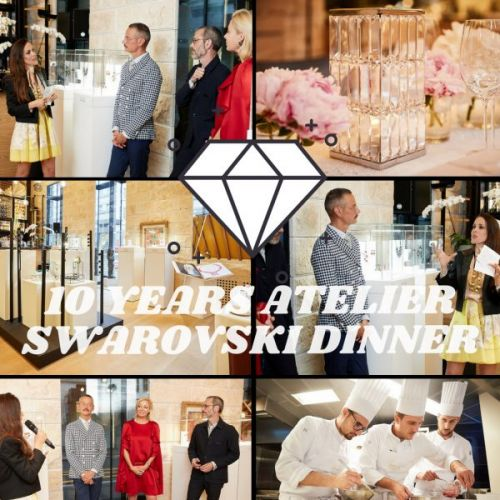 10 Years Atelier Swarovski Dinner
