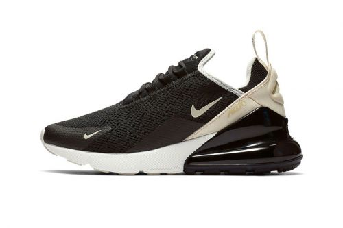 "Nike's Air Max 270 Steps Out in ""Black/Beige"""