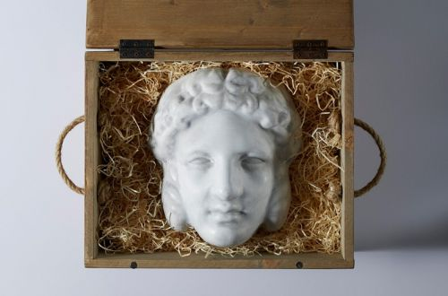 Exclusive: This Season's Gucci Invitation is an Ancient Greek Mask