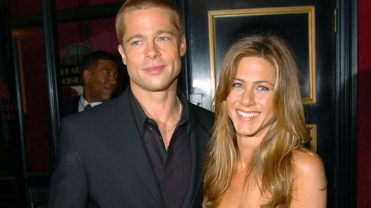 Brad Pitt Is Giving Jen Aniston a Shoulder to Cry on Amidst Justin Theroux Split