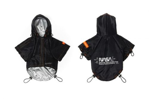 Heron Preston & NASA Partner With Very Important Puppies for Dog Wear Collection