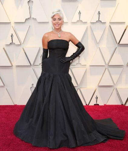 Lady Gaga's Oscars Look Was Sheer Old Hollywood Glamour-with a Twist