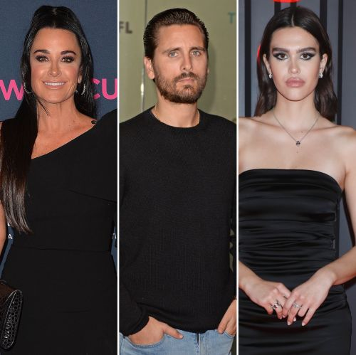 'RHOBH' Star Kyle Richards Says Scott Disick Is 'Too Old' for Girlfriend Amelia Gray Hamlin