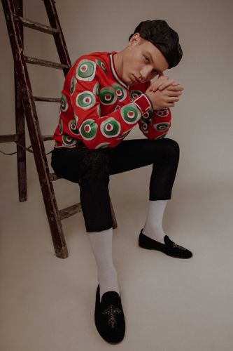 Michael Oder Goes Bold in Dolce & Gabbana for Life & Style México