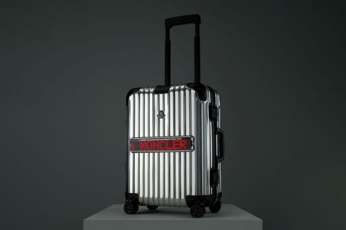 """EXCLUSIVE: Moncler and RIMOWA Reunite for """"REFLECTION"""" Luggage"""