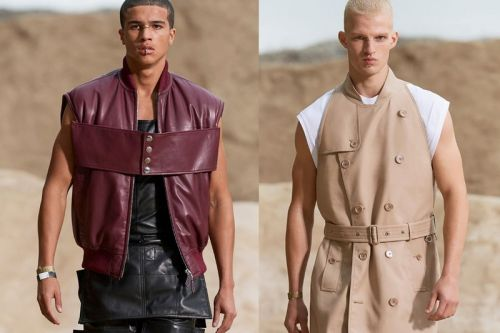 Burberry's Spring/Summer 2022 Menswear Collection Celebrates Freedom and Fluidity