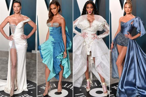 Victoria's Secret models were a fashion disaster at Vanity Fair Oscars party