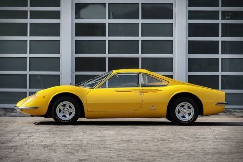 This Unique 1966 Ferarri Dino Prototype Is Available for $3 Million USD