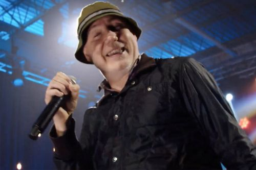 New Radicals reunite for uplifting inauguration performance