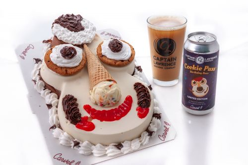 Move over, Fudgie the Beer, Cookie Puss is Carvel's new brew