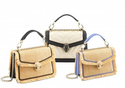 The BVLGARI Oasis collection bags we're obsessing over