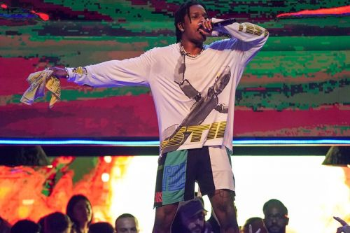 "A$AP Rocky Joins Tame Impala for ""Sundress"" & ""L$D"" at Coachella"