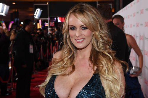 Porn star Stormy Daniels is back on the job