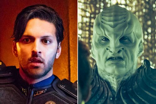 'Trek' star thinks his Klingon face is sexier than his own