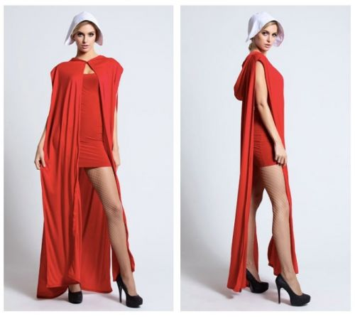 What the hell is up with this sexy Handmaid's Tale costume
