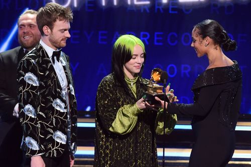 Grammys 2020: Billie Eilish wins Record of the Year - and shortest speech of the night