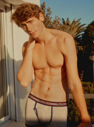 Time for You: Tom Webb Models Pepe Jeans Spring '19 Underwear Collection