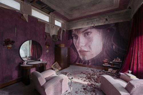 Rone's 'Empire' Features Massive Murals Inside Abandoned Australian Mansion