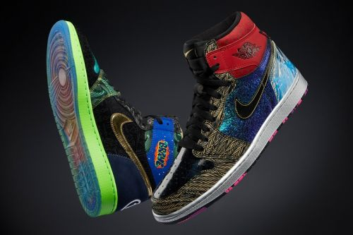"The Air Jordan 1 High ""What The"" Celebrates 14 Patient-Designers From Nike's Doernbecher Freestyle Program"