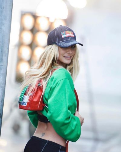 Britney Spears is the new face of Kenzo