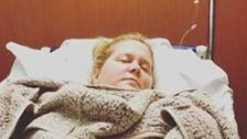 Amy Schumer Reveals She's Suffering From Hyperemesis Gravidarum